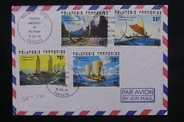 POLYNÉSIE - Enveloppe FDC - Pirogues Anciennes En 1976 - L 23822 - FDC