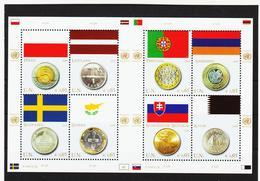 RRR399 VEREINTE NATIONEN UNO WIEN 2008  MICHL 530/37 ** Postfrisch  ZÄHNUNG Siehe ABBILDUNG - Wien - Internationales Zentrum