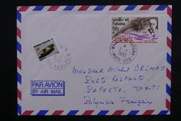 POLYNÉSIE - Taxe De Papeete Sur Enveloppe De Mata Utu ( Wallis Et Futuna ) En 1992 - L 23823 - Lettres & Documents
