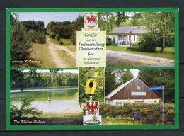 Grüße Aus Der Feriensiedlung Chossewitzer See / Mehrbildkarte - Gel. 2008 - Friedland