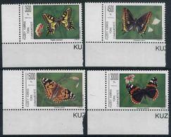 1995 Cipro Del Nord, Farfalle, Serie Completa Nuova (**) - Nuovi