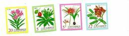Plantes Toxiques-Chine-TAIWAN-200 0--YT 2541/4***mnh - Toxic Plants