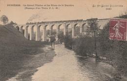 DUNIERES - Le Grand Viaduc Et Les Rives De La Dunière (Passage D'un Train P.L.M.) - France