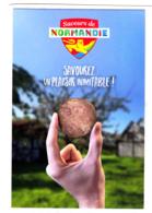 CP Pub / Saveur De Normandie / Andouille (de Vire) / Main / Charcuterie - Publicité
