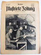 Berliner Illustrierte Zeitung 1916 Nr.17 Ordnung Im Granatfeuer - Regiments-Geschäftszimmer - Deutsch