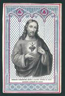 Incisione:  SACRO CUORE DI GESU' -  Mm.77 X 118 - Ed. Lamarche - Nr. 201 - Religion & Esotérisme