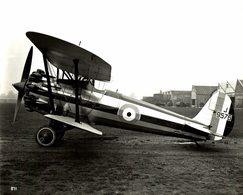 BRISTOL  BULLDOG   RAF     24 * 20 CM Aviation, AIRPLAIN, AVION AIRCRAFT WW2 - Aviación