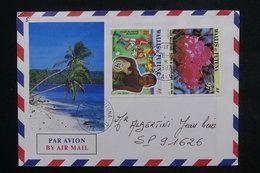 WALLIS ET FUTUNA - Enveloppe Touristique De Mata Utu Pour SP 91626 En 1987 , Affranchissement Plaisant - L 23829 - Covers & Documents