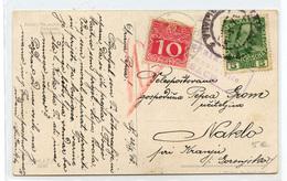 Laibach (Ljubljana) WWI Censored Fetiti Painting Postcard Travelled 1916 To Naklo - Ported Naklo B190220 - Slovenia