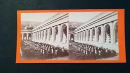 IL CAMPO SANTO A STAGLIENO  - ITALIE - Photo Stéréo C. DEGOIX Avant 1900 - Stereoscoop