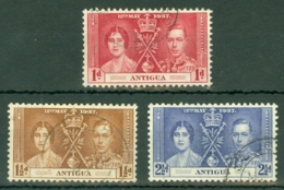 Antigua: 1937   Coronation   Used - 1858-1960 Crown Colony