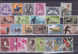 SAINT MARIN : Y&T : Lot De 25 Timbres Oblitérés Et * - Collections, Lots & Séries