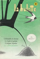 LA HULOTTE DES ARDENNES N° 60 - L' HIRONDELLE DE CHEMINEE - LE LAPIN DE GARENNE - L' ARAIGNEE NAPOLEON - Animals