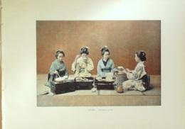 JAPON-SALLE à MANGER-1890-6366 - Estampes & Gravures