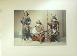 JAPON-SAMOURAIS-1890-6365 - Estampes & Gravures