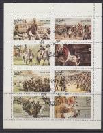 Oman 1974 Napoleon 8v In Sheetlet Used (41935A) - Oman