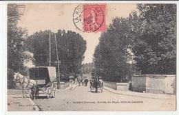 CPA- CHENY - Entrée Du Pays,Côté De Laroche-1907-dép89-2scans - Cheny
