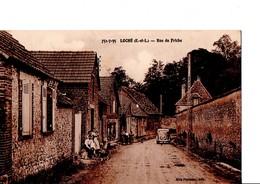 LOCHE - VER-LES-CHARTRES. (E.et.L). - Rue Du Friche. CPA état Neuf. Pas Circulé, Animé, Auto... Voir SCAN. - Other Municipalities