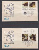 Argentina 1983 Pioneros Australes Y Fauna 4 FDC (41936) - FDC