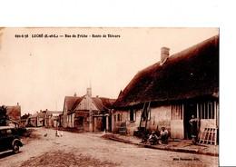LOCHE- VER-LES-CHARTRES. (E.et.L). Rue Du Friche - Route De Thivars. En Bon état. Animé, Des Oies, Auto, ... Voir SCAN - Other Municipalities