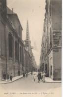75 PARIS IVe Rue Saint-Louis En L'Ile  L'Eglise - Arrondissement: 04