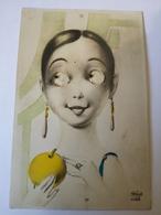 Moving Eyes Card Not Standard Used NL 1932 - Postkaarten