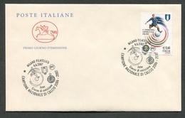 FDC ITALIA 2007 - CAVALLINO - INTER CAMPIONE NAZIONALE DI CALCIO 2006/2007 - 258 - 6. 1946-.. Repubblica