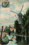 Wassenaar, Windlust, Korenmolen, Windmill, - Watermolens