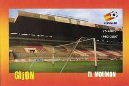 Spain, GIJON, El Molinon (2007) Stadium Postcard - Fútbol