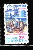 Indonesia - 1985. Sviluppo Agricolo: Trattore. .MNH - Agricoltura