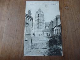 CPA 2 - Carte Postale Domart En Ponthieu - L'église - Other Municipalities