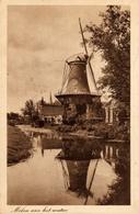 Wassenaar, Windlust, Korenmolen, Windmill, Weenenk - Watermolens