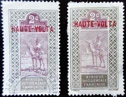 1920 Haute-Volta Yt 2 . Dromedary (Camelus Dromedarius) With Rider - Haute-Volta (1920-1932)