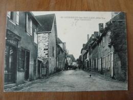 CPA 2 - Carte Postale Saint Germain Les Belles - Rue Centrale - Saint Germain Les Belles