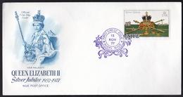 Niue, Queen Elisabeth, 1977, Silver Jubilee, FDC - Niue