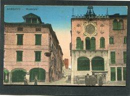 CPA - BASSANO - Municipio, Animé - Italia