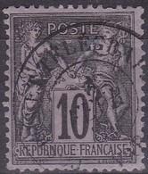 France, Oblitérations - Yvert N° 89 Oblitéré Postes Et Télégraphe - Marcophilie (Timbres Détachés)