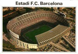 Spain, BARCELONA, Estadio Nou Camp (1980s) Stadium Postcard (4) - Fútbol