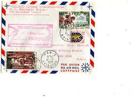 VOL Special =150000ème Liaison Transatlantique Pan American - First Flight Covers