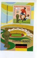 Munich 1974-coupe Du Monde De Foot-Guinée Equatoriale-MI Bloc***MNH   NON DENTELE-valeu 7 EURO - Coppa Del Mondo