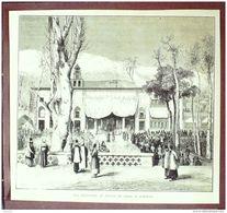 IRAN-TEHERAN-RECEPTION Au PALAIS Du SHAH-1880-196 - Estampes & Gravures