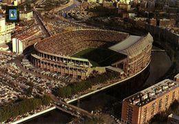 Spain, MADRID, Estadio Vicente Calderon (1970s) Stadium Postcard - Fútbol
