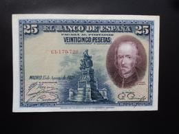 ESPAGNE : 25 PESETAS   15.8.1928    P 74b    SUP+ - [ 1] …-1931 : Eerste Biljeten (Banco De España)