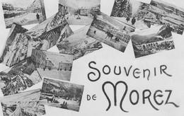 """CPA Morez 9 """"Souvenir De Morez"""" - Morez"""