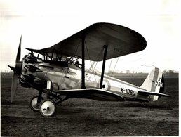 BRISTOL  BULLDOG   RAF     22 * 17 CM Aviation, AIRPLAIN, AVION AIRCRAFT WW2 - Aviación