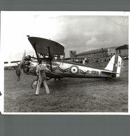 BRISTOL  BULLDOG   RAF     22 * 16 CM Aviation, AIRPLAIN, AVION AIRCRAFT WW2 - Aviación
