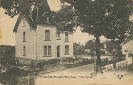 22 Bruere Allichamps Villa Vignolet  Envoi à Lewiston Maine USA American Expeditionary Force WWI Guerre 14 - Frankrijk