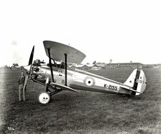 BRISTOL  BULLDOG   RAF     24 * 19 CM Aviation, AIRPLAIN, AVION AIRCRAFT WW2 - Aviación