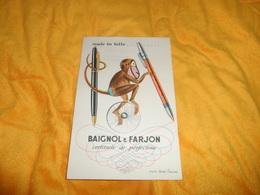 BUVARD ANCIEN BAIGNOL & FARJON CERTITUDE DE PERFECTION... - Buvards, Protège-cahiers Illustrés
