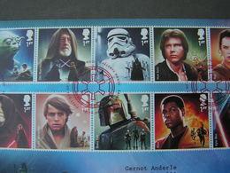 GB FDC Star Wars 2015 - FDC